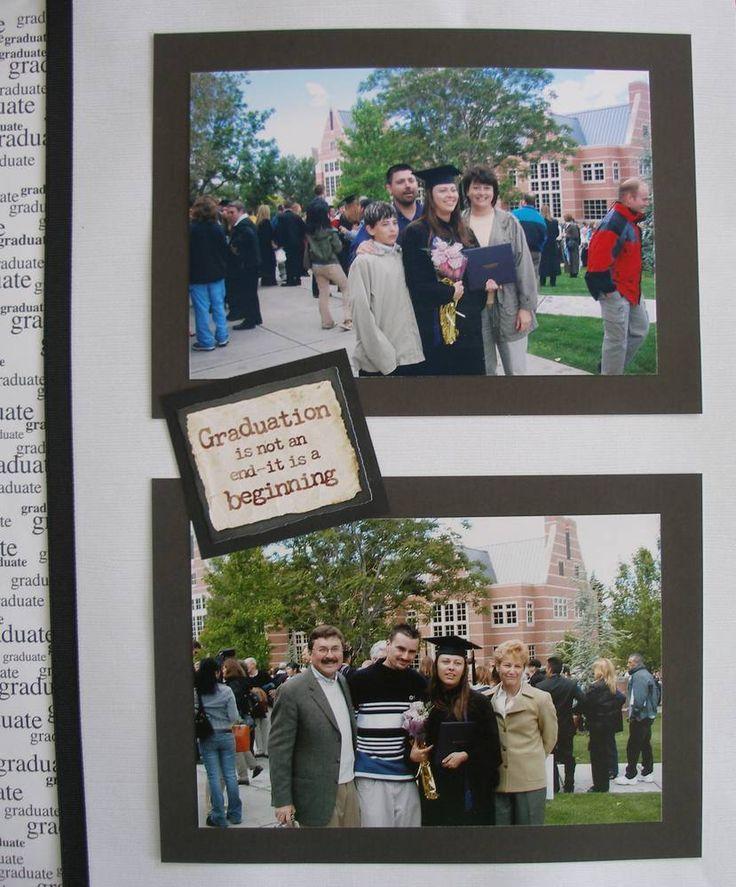 College Graduation Album - Scrapbook.com