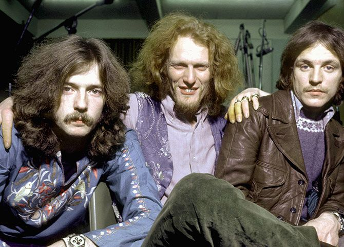 Cream Band | Jack Bruce, Ginger Baker and Eric Clapton of British rock group Cream ...