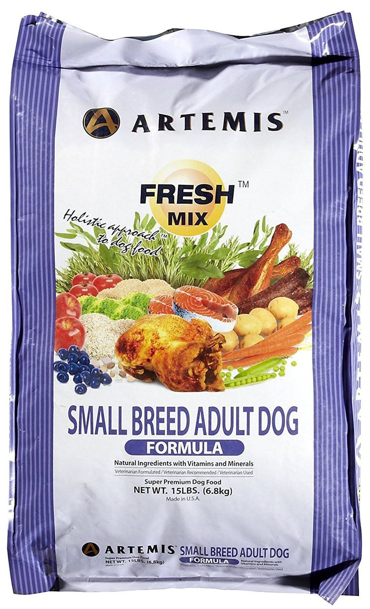 ARTEMIS 133042 Fresh Mix Small Breed Adult Food, 15-Pound -- Review more details here : Dog food types