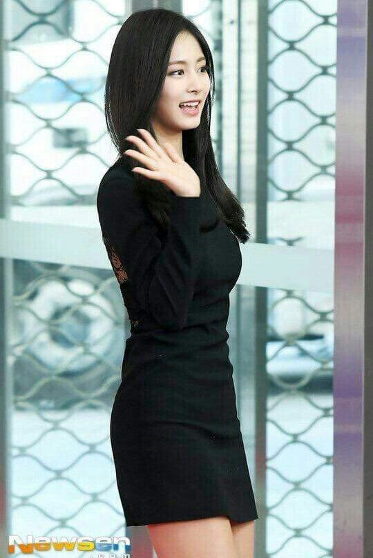 Twice-Tzuyu 171225 SBS Gayo Daejeon