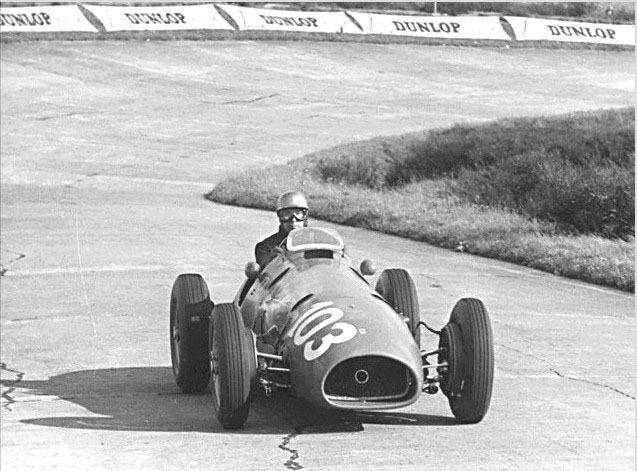 F1 GP #21 - German GP 1952 - Ferrari 500 - Piero Taruffi