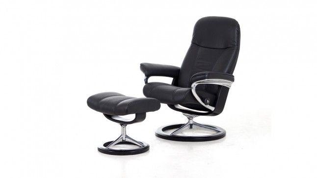 Stressless fauteuil consul modern s zitmaxx - Fauteuil bureau stressless ...