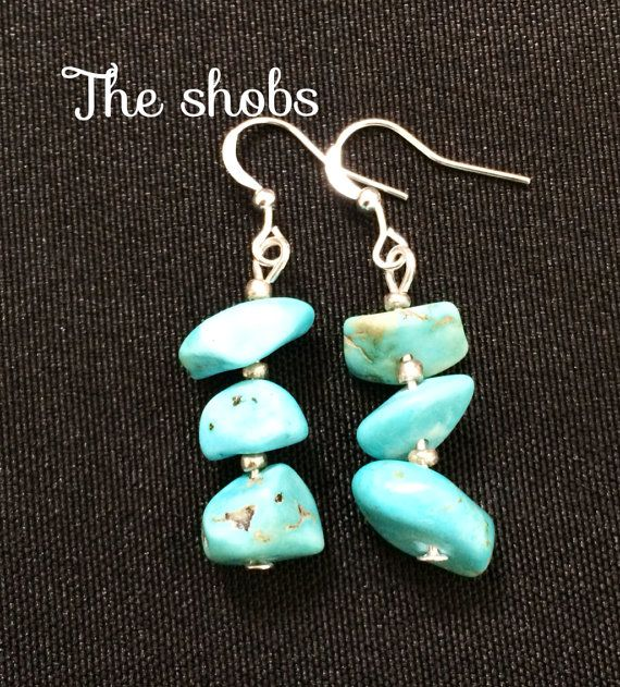 Pretty blue turquoise earring!<br>Dont miss out,add them to your collection today!!