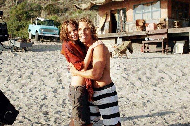 Pin for Later: The Hottest Shirtless Guys in Movies Matthew McConaughey, Surfer, Dude Surfer, Dude may not be Matthew McConaughey's best role, but I can't say there's nothing redeeming about the movie.