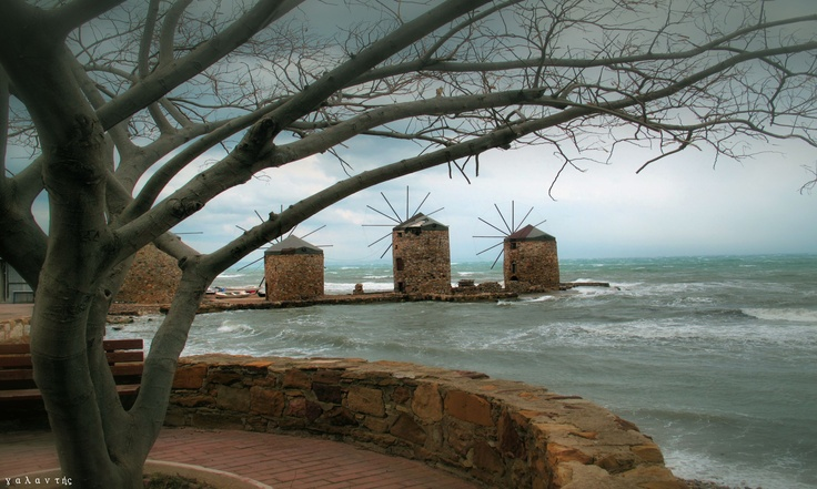 VISIT GREECE| Windmills, the area of Tambakika, #Chios #Greece #islands #windmills