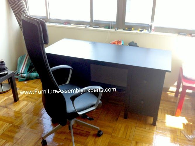 Ikea Hemnes Desk Assembled In Baltimore Md By Furniture Assembly Experts Llc