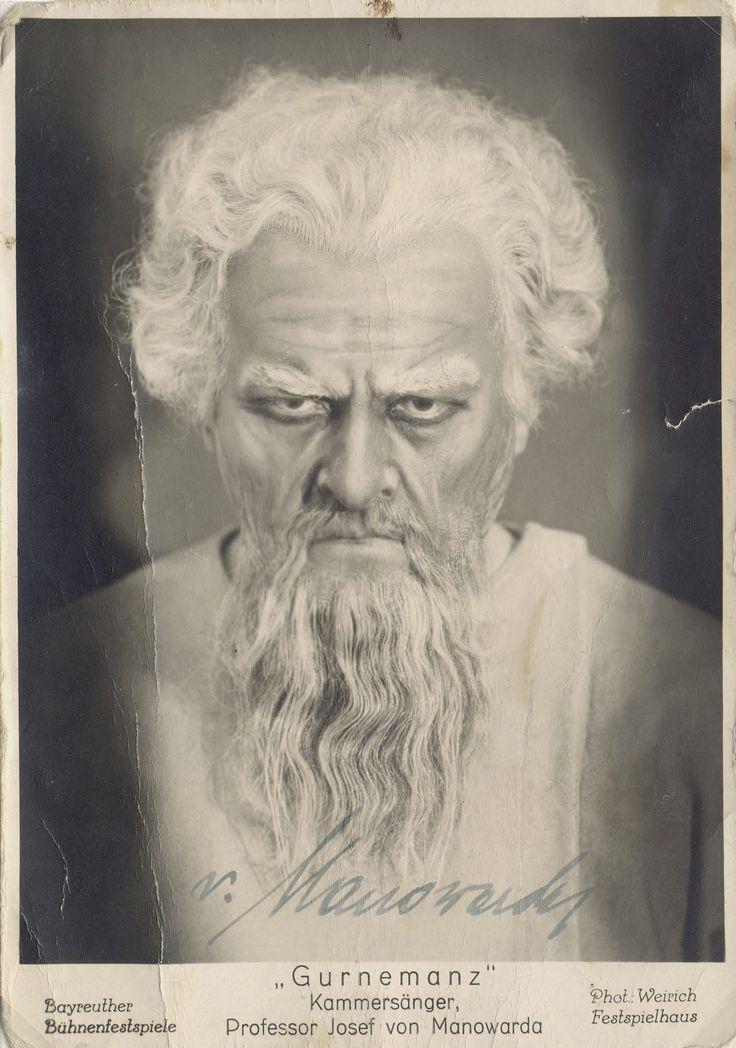 Josef von Manowarda  1936