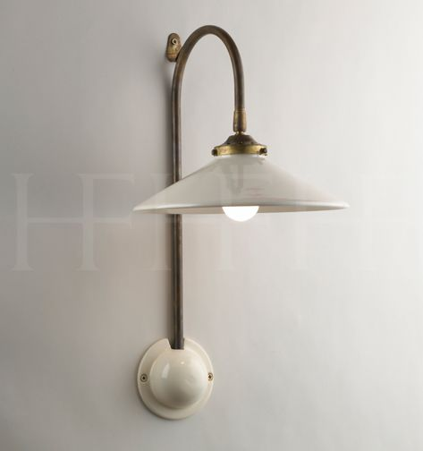 French Ceramic Wall Light