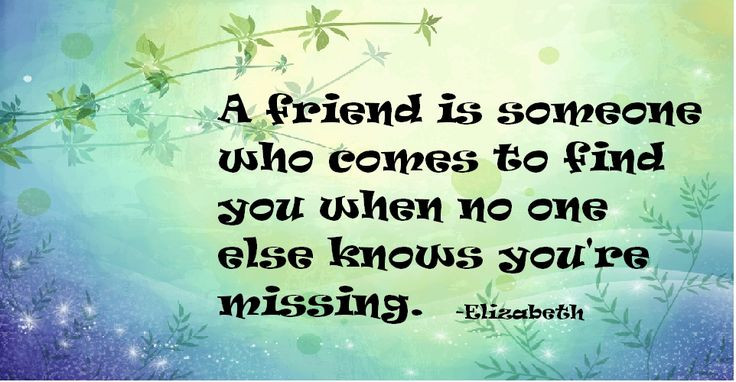 My Quote About Friendship