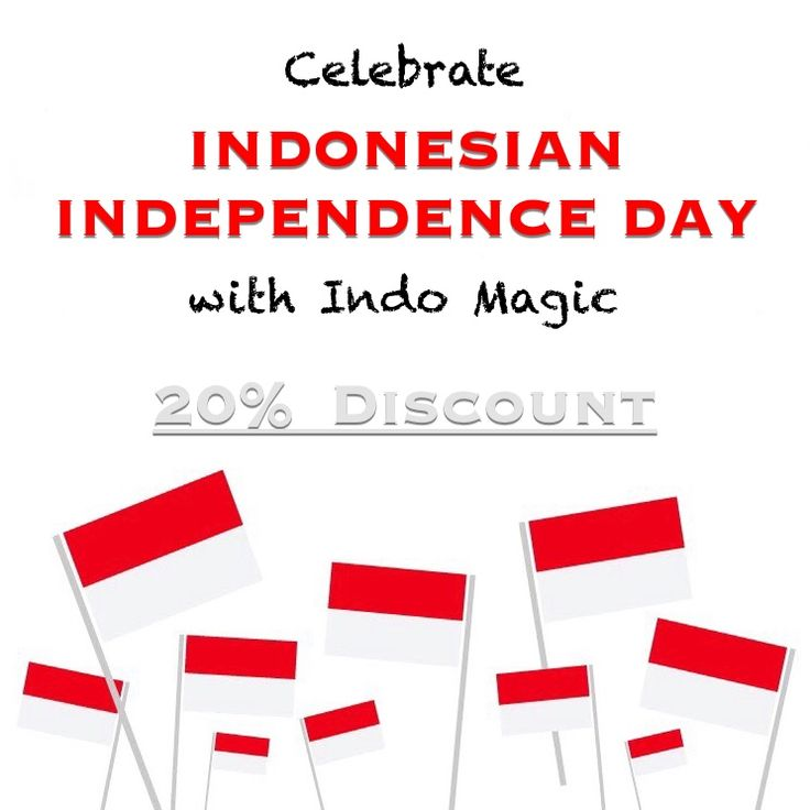 Celebrate Indonesian Independence Day with Indo Magic