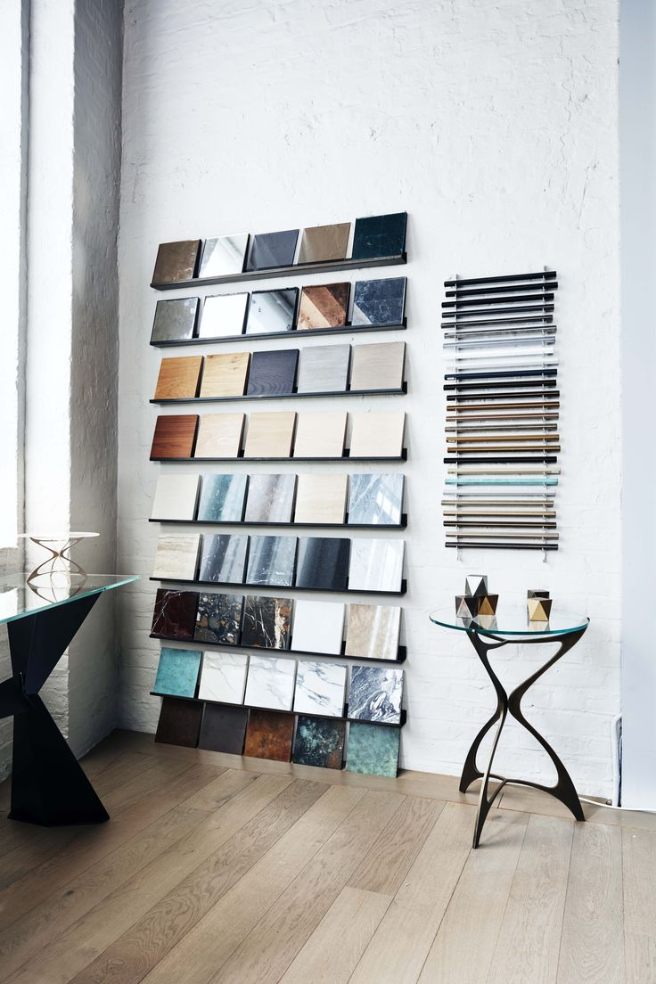 Take your pick from our extensive selection of luxury finishes - samples available in our Chelsea showroom