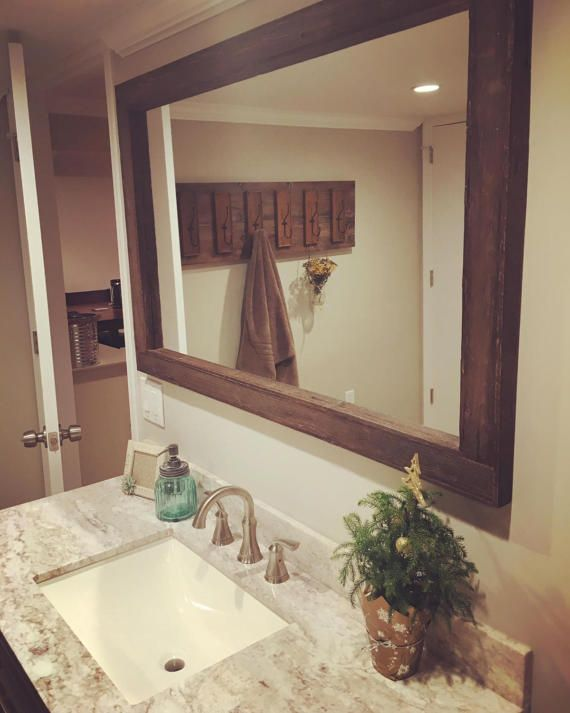 Mirror Reclaimed Wood Option Extra Large Mirrors 69 X 42