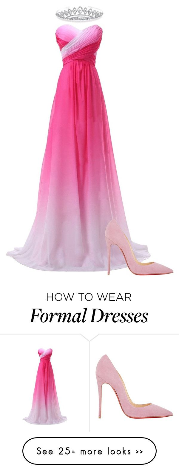 """""""Prom queen"""" by catycan23 on Polyvore featuring Christian Louboutin and Bling Jewelry"""