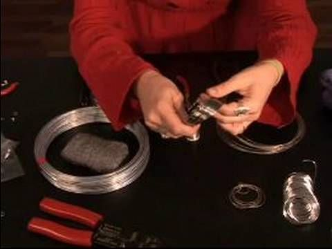 Learn about the types of wire for jewelry making with expert wire jewelry making tips and advice in this free online crafting video clip.    Expert: Marissa Weeks  Bio: Marissa has been making jewelry since she was 13 years old. She was an apprentice with wire jewlery in Monterrey, Mexico in 2003.  Filmmaker: Christopher Rokosz