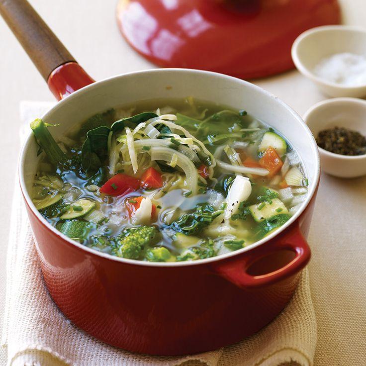 Sopa de verduras frescas | Weight Watchers México