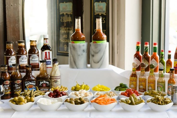 How To Build Your Own Bloody Mary Bar