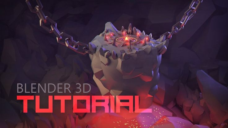 [Tutorial] Modeling 3d Underground Boss Arena | Low Poly 3d Illustration...