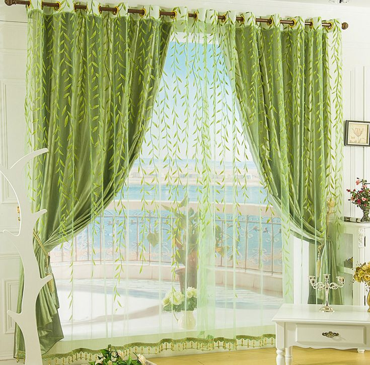 25+ Best Ideas About Green Bedroom Curtains On Pinterest