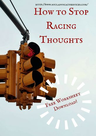 How to Stop Racing Thoughts - FREE WORKSHEET DOWNLOAD!