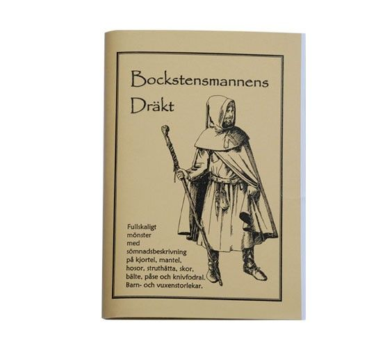 Costume patterns - Medieval clothes patterns The Bockstens man - Vikinga & Keltiska Smycken Kläder Presenter - Handfaste The Viking Shop