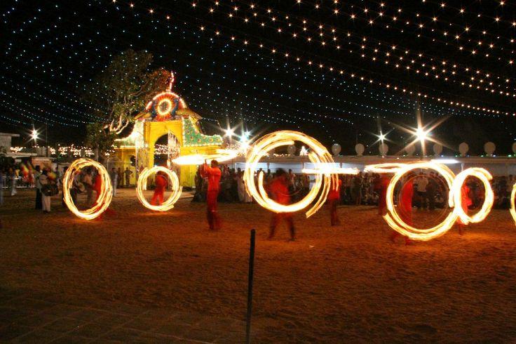Kataragama hindu religion celebration dance fire show #SriLanka