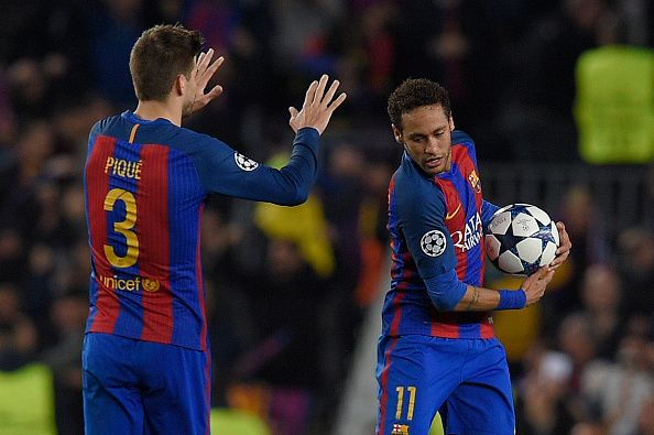 #rumors  Neymar latest: Gerard Pique admits Instagram post was 'my intuition' and defender hopes Barcelona team-mate will snub PSG interest