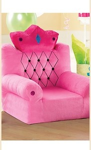 Pink Princess Throne Couch For Kids 2 5 Years Old A