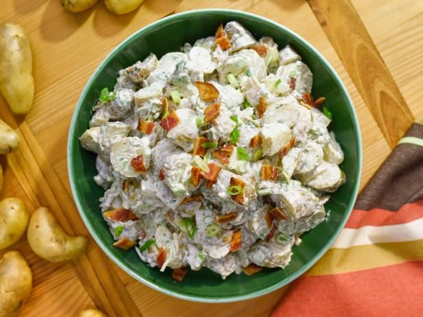 Get Bacon and Ranch Potato Salad Recipe from Food Network