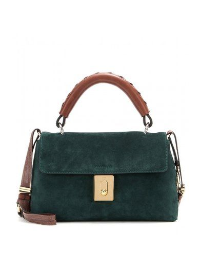 http://sellektor.com/all/mytheresa/strona-31 Fedora Suede Shoulder Bag