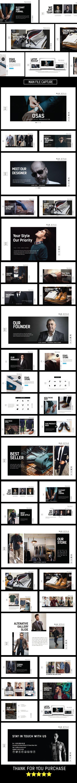 Osas Fashion Style Keynote Template - Keynote Templates Presentation Templates