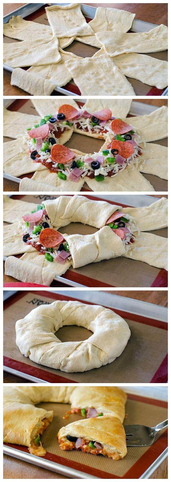 Supreme Pizza Crescent Ring