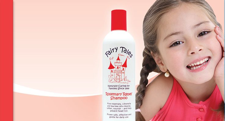 Welcome To Fairy Tales Hair Care  Clinically proven to help prevent head lice with organic herbs and natural plant extracts!