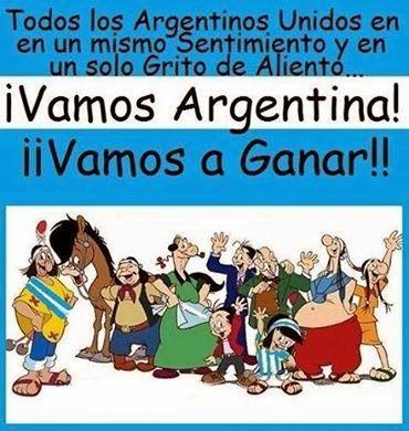 Propaladora de actividades, ideas y noticias Ricardo Carpani. Batalla Cultural Nacional y Popular: En el mundial, Todos con Argentina