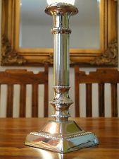 Kerzenleuchter Kerzenhalter Edel Jugendstil Silber Antik Barock Kerzenständer