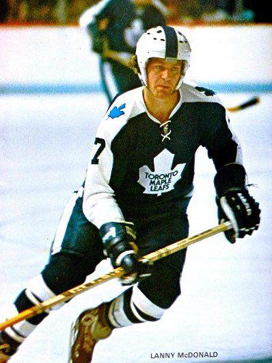 Lanny McDonald, Toronto Maple Leafs. (NHL ⭕️riginal_6️⃣ on Twitter)