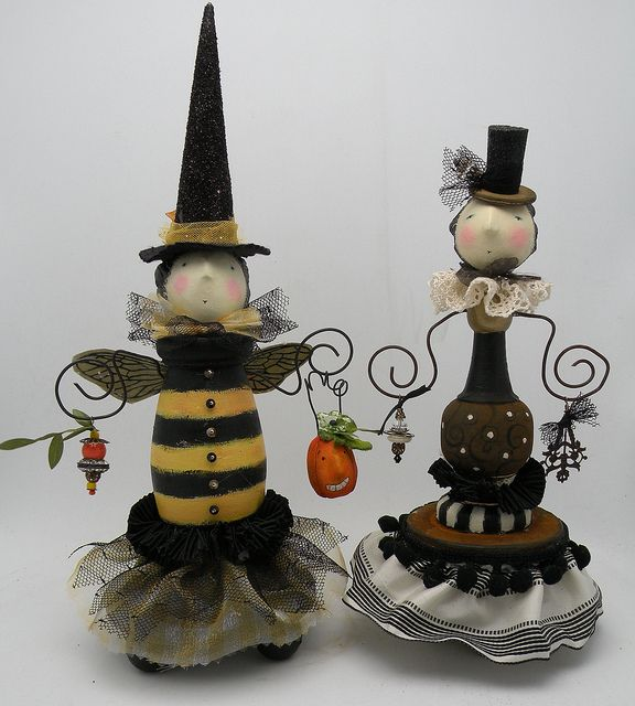 bee witched and lady | Flickr - Photo Sharing!