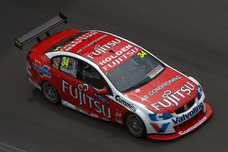 Michael Caruso driving the Garry Rogers Motorsport, Holden VE Commodore during the 2010 Telstra Sydney 500 at Sydney Olympic Park.    Photo by Craig Coomans ©. Feel free to share, simple ensure you credit the photo to me.