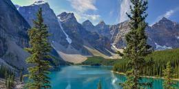 Der Moraine Lake im Banff-Nationalpark #merianlovescanada