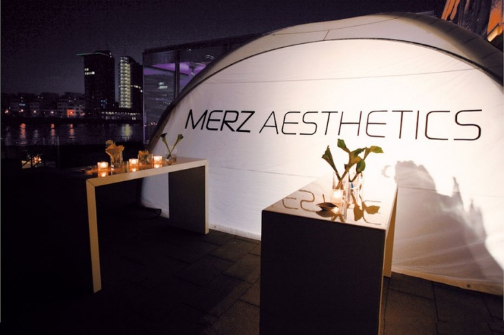 Catering at Merz Aesthetics | X-GLOO 6x6 with Side Wall