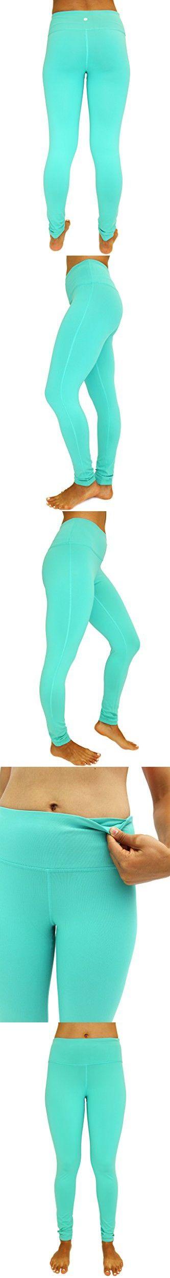 90 Degree by Reflex Power Flex Yoga Pants - Jade - Medium