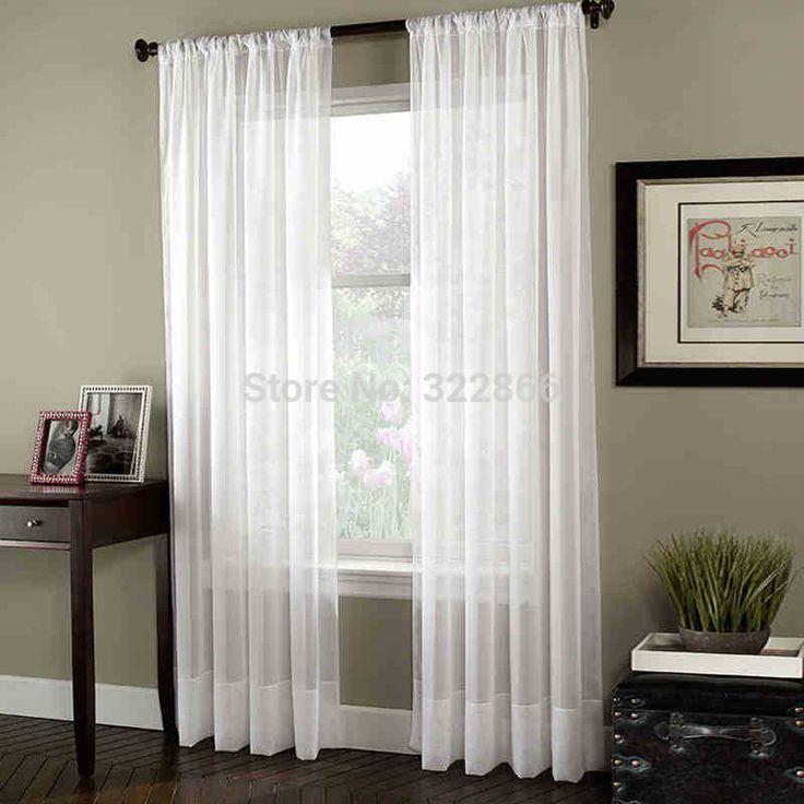 Las 25 mejores ideas sobre cortinas transparentes en for Quiero ver cortinas
