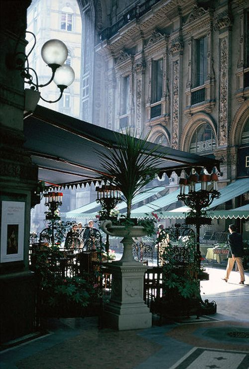 The Galleria in Milan, Italy. One of the most stylish capitals in the world. Oh, and the coffee isn't too bad, either.