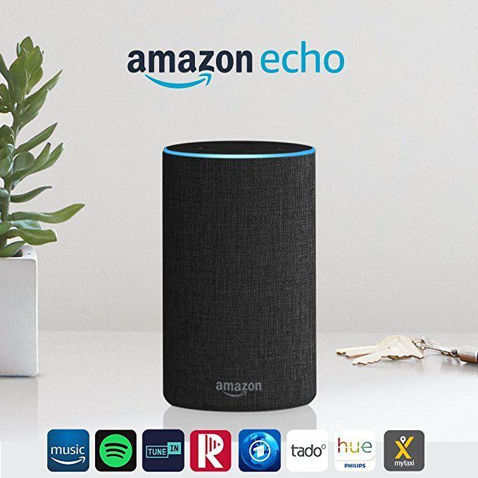 Amazon Echo (2. Generation), Intelligenter Lautsprecher mit