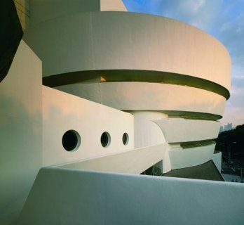 Guggenheim Museum, New York, by Frank Lloyd Wright