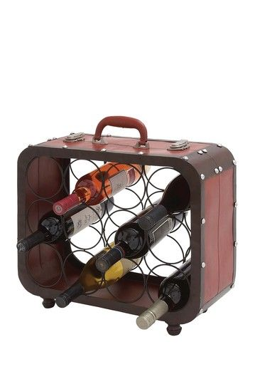 Metal Case Wine Rack by Rustic Vintage Decor on @HauteLook