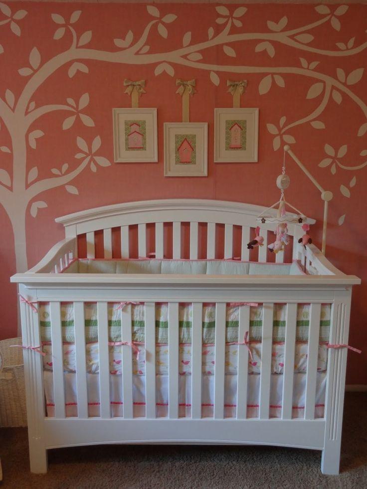 Baby Kinderzimmer, Girly Dekoration für Baby Mädchen ...