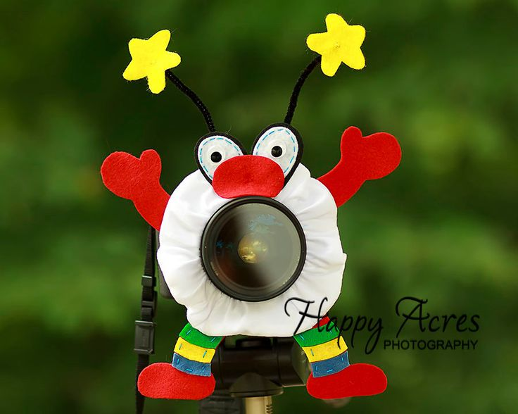 camera lens buddy =). Maybe this would get me some real smiles from Addi?
