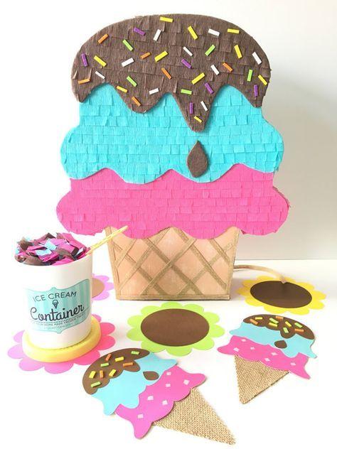 A LA VENTA AHORA! A LA VENTA AHORA! A LA VENTA AHORA! ¡Yo grito! ¡Gritan! Todos grito para el helado!! .. .introducing mi piñata mini helado asperja nuevo! A caramelo para cualquier parte de la diversión o decoración de la habitación. Si usted está planeando un helado social, una fiesta de verano o una fiesta temática de cupcake! Mi piñata artesanal mejorará tu mesa de buffet o pastel. También es el tamaño perfecto para ser utilizado como un telón de fondo de la foto, Foto decoración prop o…