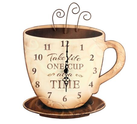 10 Whimsical Clocks Inspired By Coffee Coffee Decor