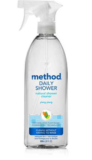 With Method Daily Shower Cleaner In Ylang Ylang, Youu0027ll Never Have To  Scrub, Wipe Or Rinse Your Shower Again. Just Spray A Fine Mist On Wet  Surfaces.